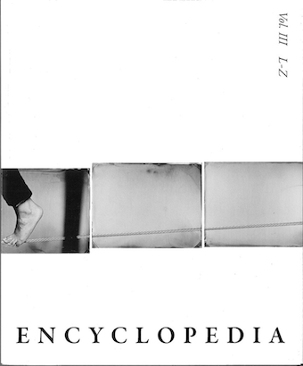 Encyclopedia Project III L-Z Cover